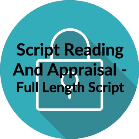 Script Reading and Appraisal Full Script